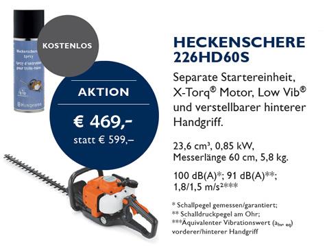 Heckenschere Husqvarna 226HD60S