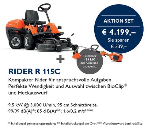 Rider Husqvarna R 115C